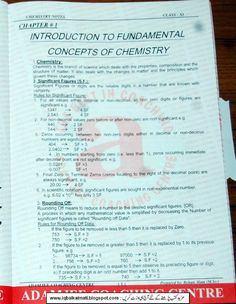 27 Best CHEMISTRY NOTES images in 2018 | Chemistry notes, Chemistry