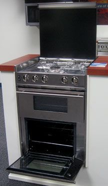 Dometic Offers New Line Of Cooktops Ovens Sinks Cooktop Kitchen Stove Airstream Decor