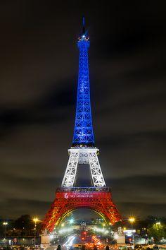 The Eiffel tower by David Duchens
