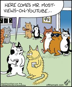 cat celebrity. Off the Mark by Mark Parisi September 6, 2014