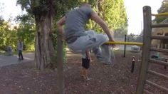 "1.31.""Street Workout Motivation Vienna Austria"" Sprung über Stange in Kn..."