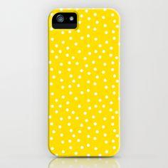 Polka dots iPhone & iPod Case by Katarina Fegraeus - $35.00