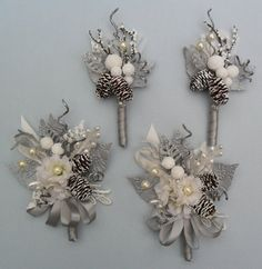corsage & boutonniere- for Mother's and grandmothers?