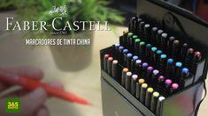 APRENDER A DIBUJAR CON MARCADORES FABER-CASTELL: Como dibujar profesionalmente paso a paso - YouTube