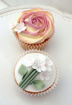 Garden Party Cupcakes  #matildetiramisu #concorso #dolciricette