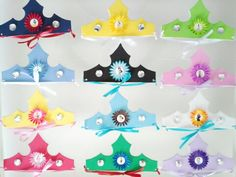 Disney Princess Party Favor Crowns/Tiaras