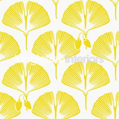'Kuboaa' gingko patterned wallpaper (Barton collection)