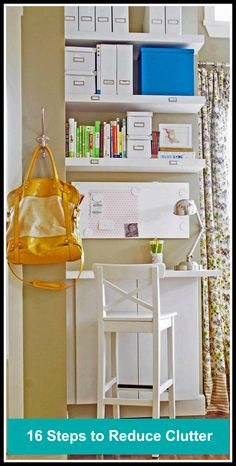 Reduce clutter and reduce stress in the new year!