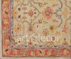 New Barns Persian 8X10 ebay- Elhams woolen area rugs carpet #TraditionalPersianOriental