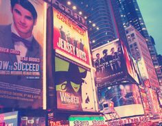 Bright lights, big city #NYCLove #Broadway