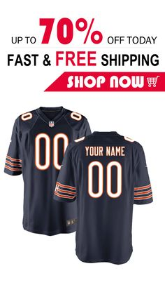 7d90dcd62 Custom Football, Nike Vapor, Nfl Chicago Bears, Nfl Jerseys, Personalised  Football