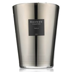 #baobabcollection platinum 24cm candle #giftlibrary April Top Picks