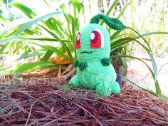 Chikorita (Pokémon)  By Miya Chan (Miyachan's Creations)