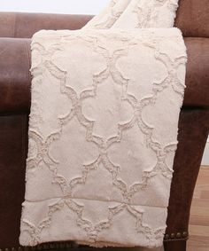Look what I found on #zulily! Oatmeal Throw Blanket #zulilyfinds  $27.99 from 60.00