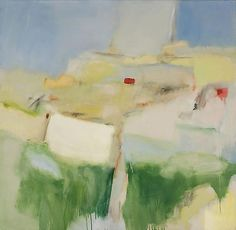 Untitled Abstraction c. 1960 oil on canvas 49 x 50 inches