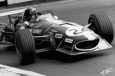 Gurney 1968 England Eagle T1G