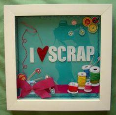 I love scrap - quadrinho!!