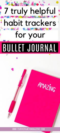 Want to know which bullet journal habit trackers you're going to get the most out of? Take a look here for the best financial & fitness trackers and more! Bullet Journal For Beginners, Bullet Journal Set Up, Bullet Journal Tracker, Bullet Journal Hacks, Bullet Journal How To Start A, Bullet Journal Layout, Bullet Journal Inspiration, Journal Ideas, Bujo Monthly Spread