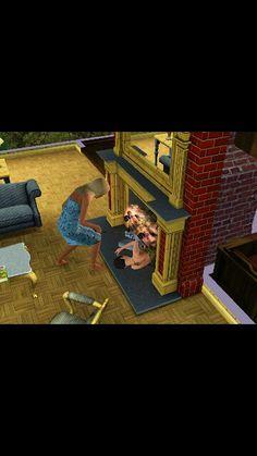 Sims hahaha