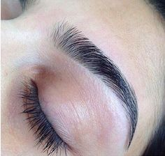 Perfect eyebrows, bold brows