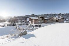 Unser Badhaus INNERE MITTE. #puradies #badhaus #inneremitte #austria #winterholiday #leogang
