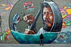 Read about the Netherlands own Urban Art Festival Amsterdam on Mr Pilgrim online street art, urban art, graffiti & more in the heart of Holland 3d Street Art, Best Street Art, Amazing Street Art, Street Art Graffiti, Street Artists, Amazing Art, Awesome, Urban Graffiti, Graffiti Murals
