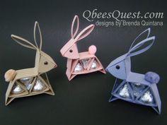 Hershey's Bunny Tutorial   Qbee's Quest Stamping Ideas