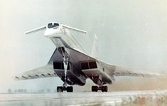 Nope, not the concorde. This is the Tupolev Main difference? Concorde, Tupolev Tu-144, Zeppelin, Supersonic Aircraft, Aviation Forum, Civil Aviation, Flying Vehicles, Russian Air Force, Passenger Aircraft