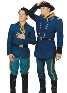 American Civil War Cavalry Uniforms - Fancy That American Civil War, American History, Battle Fight, Pattern Pictures, Costume Patterns, Men In Uniform, Western Art, Dapper, Button Down Shirt