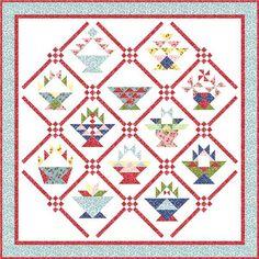 Twelve basket patterns in this BOM program