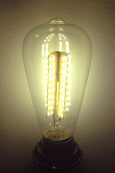 Antique Replica LED Light Bulbs From October Design. Replace 25  Incandescent Bulbs With One LED