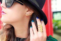 Lady Grey ear cuff + Jennifer Fisher ring, today on chicityfashion.com