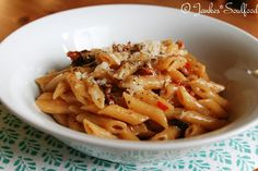 One Pot Penne mit Tomaten