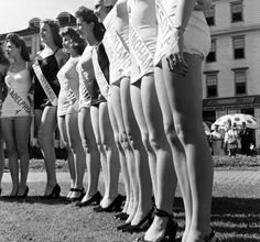 Vintage Miss America Photos from 1945