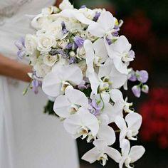 Bruidsboeket & Zo orchidee boeket