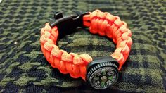 Check out this item in my Etsy shop https://www.etsy.com/listing/239582500/nato-orange-paracord-bracelet-with
