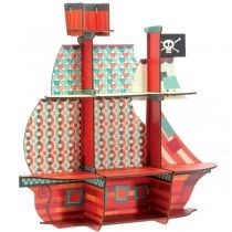 Pirate Ship Kids Shelves - Available now on Becky & Lolo