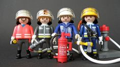 Firefighters Legoland, Firefighters, My Favorite Things, Toys, Playmobil, Firemen, Activity Toys, Clearance Toys, Fire Fighters