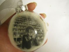 Cut out the picture at the beginning of each Harry Potter Chapter and make ornaments!