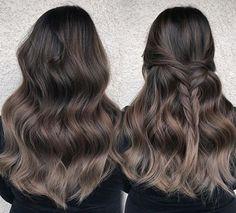Image result for ash brown dark blonde color melt