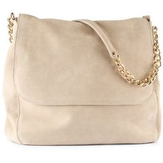 H Suede bag ($75) ❤ liked on Polyvore