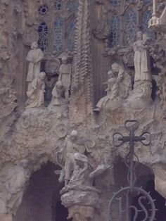 Segrada Familia Church,  Barcelona Spain