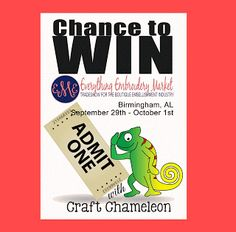 Craft Chameleon, formerly Punch Place Plus: Another Chance to Win!!!