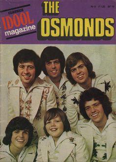 The Osmonds Idool Magazine NR 8 | eBay Donny Osmond, Marie Osmond, Rock & Pop, Pop Magazine, Osmond Family, The Osmonds, Puppy Love, Boy Bands, Superstar