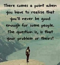 So true! So tired of people who find fault in others without working on themselves first!