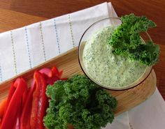 Kale Dip Awesome! :) Such a great dip alternative!  So healthy!  Great way to get more kale into your day as well as extra protein from the cottage cheese!  Love it!!!