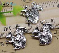 wholesale 30//60pcs Retro style lovely dinosaur alloy charms Pendants 26x14mm