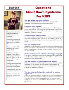 The Seal Bark: World Down Syndrome Day