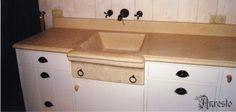 Anresto keukens keukenkast met tablet en spoelbak