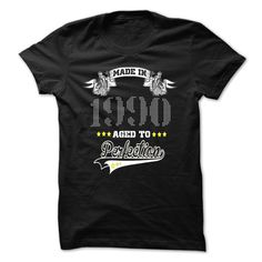 Perfection-1990 T Shirts, Hoodies. Check price ==► https://www.sunfrog.com/LifeStyle/Perfection-1990.html?41382 $21.99